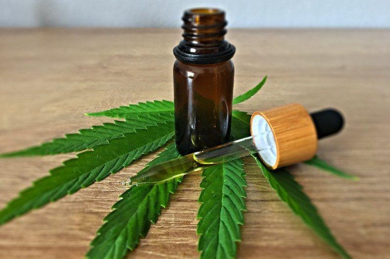 Olej CBD / THC na raka